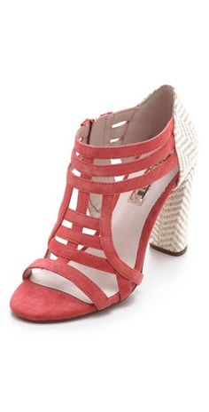 twist on a bootie - great for the summer