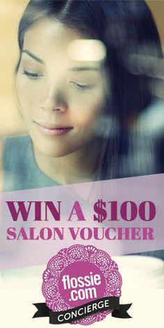 Win a $100 Flossie Concierge #Salon #Voucher! #competition #beauty