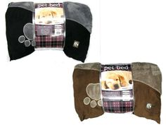 COUNTRY CLUB MICROFIBER PET BED STYLE - PET142932