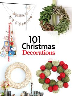 Our biggest guide ever is packed with clever tricks and chic tips to spread plenty of cheer.       #christmas #holiday #decorating