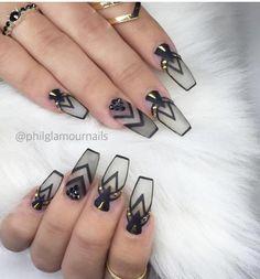 38 Pretty Coffin Ballerina Nails You Will Love