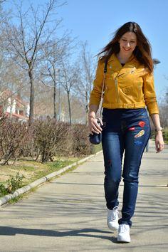 sarixrocks yellow jacket #kissmylook