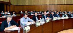 지속적발전에 관한 평양국제토론회 진행