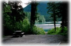 Whiteswan Lake Provincial Park - BC Parks and LUSSIER HOT SPRINGS + camping (south of Banff, BC)