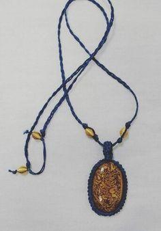 Macrame DIY necklace