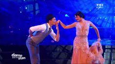 Saison 6 : Un magnifique Foxtrot pour Olivier Dion et Candice Pascal sur Singing in the rain de Gene Kelly