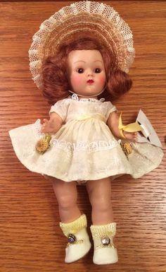 "VOGUE GINNY DOLL, Strung, Hard plastic ""BERYL"" #43, 1952 Tiny Miss Series"
