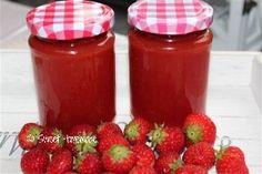 Aardbeien mango jam