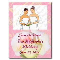 Chinoiserie WEDDING Save-the-Date Post Card from InsightfulWeddings*