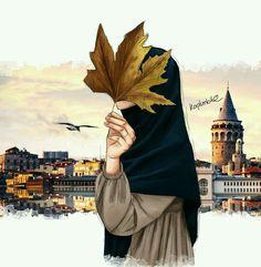 Read Hijab Fan Art from the story Cartoon Kunst, Cartoon Art, Girl Cartoon, Cute Cartoon, Muslim Pictures, Cover Wattpad, Hijab Drawing, Girly M, Islamic Cartoon