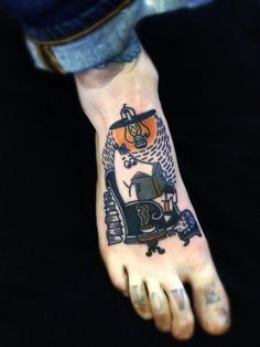 A moomin tattoo! omg