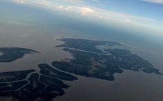 Gabriela Moraes mora em Mato Grosso do Sul e fez imagens aéreas enquanto fazia o trajeto até o Maranhão, para passar férias em janeiro de 20...