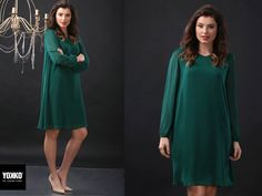 Time to party! DONNA dress YOKKO   fall16 #dress #veil #evening #green #women #fashion #style