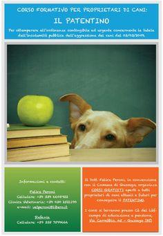 Corso gratuito per il patentino di proprietari di cani - http://www.gussagonews.it/corso-gratuito-patentino-proprietari-cani-2015/