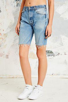 Vintage Renewal Raw Cut Levi's Bermuda Shorts