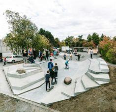 http://katoxvictoria.dk  skate parc au Danemark (Slangerups)