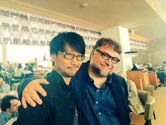 Kojima and Guillermo del Toro.