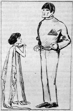 Design of robot and Helena for the 1920s NY production.