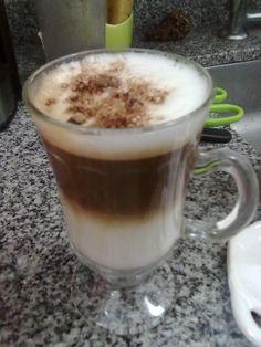 rico capuccino casero! / homemade cappuccino!!
