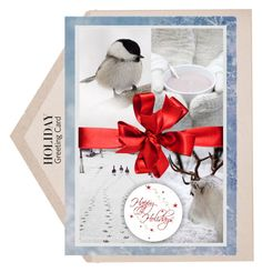 """""""Holiday Card"""" by trendyyou ❤ liked on Polyvore featuring Mode und holidaycard"""