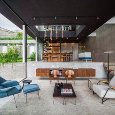 Casa de concreto e metal em São Paulo | FGMF Arquitetos