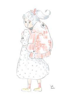 Yuki.Kawatsu Illustration — 今日もお疲れ様でした☆ ギョギョッ_φ(・u・♬