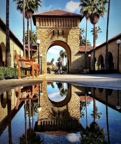 After the rains, Stanford University, Palo Alto, CA. Photo: rao.anirudh, via Flickr