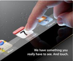 iPad 3: 7 de Marzo, 2012