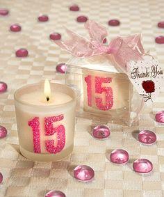 Recuerdos de 15 años – Velas con número 15