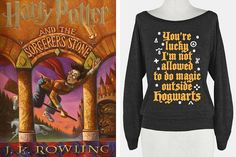 A perfectly cozy Harry Potter sweatshirt that every fan needs to own.