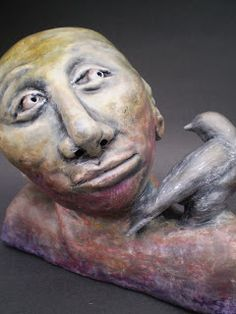 The Blooming Palette of High School Art: You're An Idiom!: Ceramic Portrait Busts (High School Art Unit)