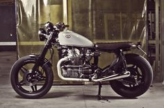 1982 CX500 Brat  by Braam and Louis Nel  South Africa