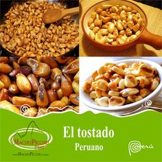 El tostado - gastronomía peruana.