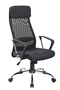 High Back Mesh&fabric Executive & Managerial Computer Desk Swivel Office Chair with High-quality Fabric Upholstery Headrest and Seat Adjustable Office Chair, Swivel Office Chair, Mesh Office Chair, Ikea Chair, Home Office Chairs, Home Office Furniture, Cool Office Desk, Office Computer Desk, Chairs For Bedroom Teen