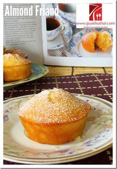 Classic French Almond Friands (杏仁费南雪) #guaishushu #kenneth ...