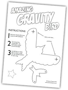 balancing bird template - toys from trash balancing bird tutorial and template