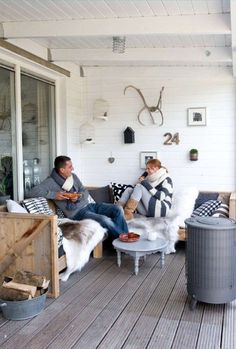 If you want to add a couple of cute touches to your terrace to highlight the season, you'll like this article! We've prepared some beautiful examples of winter terrace décor so that you could spend more time there and feel comfy and cozy. Number one idea here is using fur for décor: it's cozy, stylish,...