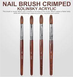 Item Type:Nail Brush Size:6#8#10#12#14#16#18# Model Number:Gel Builder Brush Material:100% Kolinsky Product Name:Konlinsky Sable Pen Category:Acrylic Brush Use:Nail Art Brush Nail Brush:Kolinsky Gel Brush Konlinsky Sable Pen:Crimped Head Brush Function:Poly Gel Brush Item:Gel Nail Brush UV Gel Brush:Liner Painting Pen Manicure Nail Art Tool:Nail Art Brush Acrylic Nail Brush, Acrylic Brushes, Nail Art Brushes, Gel Nail, Nail Art Supplies, Nail Art Tools, Nail Drawing, Wood Nails, Best Brushes