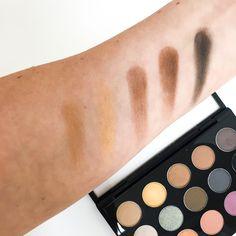 MAC Nordstrom's Finest Eyeshadow Palette – Swatches #Nordstrom #MAC #EyeshadowPalette #MACEyeshadows #NordstromsFinest