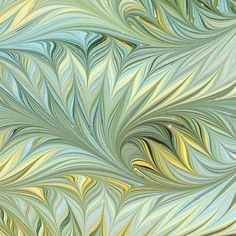 Art on Water handmade marbled paper 19x25in 48x64cm by artonwater, $12.50