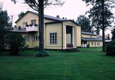 Villa Väinölä,1926, Alajärvi. Arkkitehti Alvar Aalto.