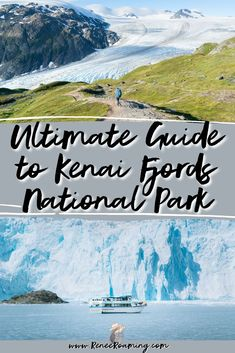 Kenai Fjords National Park, where the mountains meet the sea and abundant wildlife thrives in icy waters. The park is an Alaskan must-visit and should be on everyone's bucket list! In this guide you will find out everything you need to know to plan your own Kenai Fjords trip, including when to visit, the best things to see and do, where to stay, what tours to book, and much more! | Kenai Fjords bests things to do | Kenai Fjords tours | via @reneeroaming