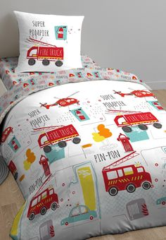 Kids Bedroom Paint, Linen Bedding, Bed Linen, Kids Prints, Duvet Sets, New Kids, Baby Blue, Baby Car Seats, Comforters