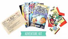 Imaginary Friends brings stories to life for kids - http://thisbirdsday.com/imaginary-friends/ #Crowdfunding, #Kickstarter