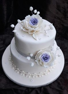 Wedding cake  by Zuzana38 - http://cakesdecor.com/cakes/284088-wedding-cake