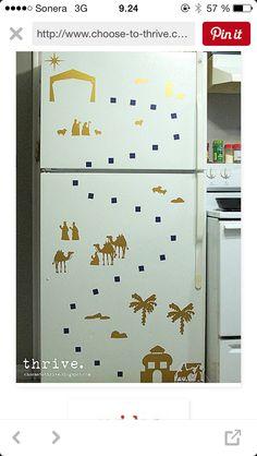 Matkalla Beetlehemiin Christmas Activities, Top Freezer Refrigerator, Kitchen Appliances, Diy Kitchen Appliances, Home Appliances, Kitchen Gadgets