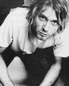 Kurt Cobain, the icon who made the tee grunge. #TeeParty