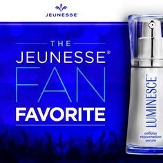 The Jeunesse Fan Favorite cellular rejuvenation serum gently transforms your skin and minimizes the appearance of fine lines and wrinkles. It's easy to see why it's our most popular product around the globe. Healthy Aging, Stem Cells, Anti Aging Skin Care, Cellulite, Helping People, Cleanser, Serum, Designer
