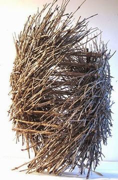 Maggie Smith Basketry Plus Hiding, Karen Gubitz Woven Earth Embrace, Marcis Wolfson Ray Marcia Wolfson Ray Take Flight, Ji. Contemporary Baskets, Contemporary Art, Non Plus Ultra, Bamboo Art, Stick Art, Art Sculpture, Weaving Art, Arte Floral, Environmental Art