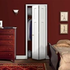 JELD-WEN Craftsman Smooth 2-Panel Painted Molded Interior Bifold Closet Door-THDJW160200107 at The Home Depot